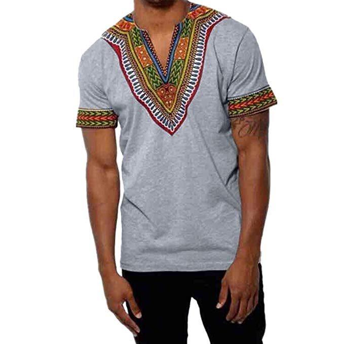 camisetas estilo estnico para hombre