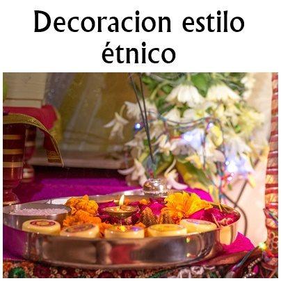 DECORACION ETNICA