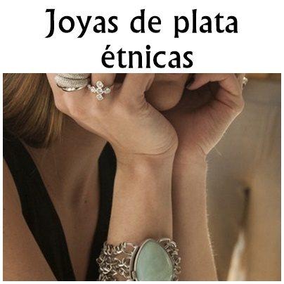 JOYAS DE PLATA ETNICAS