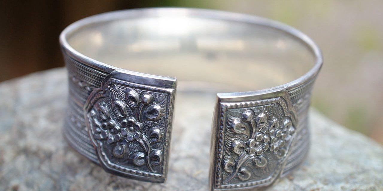 pulseras de plata etnicas