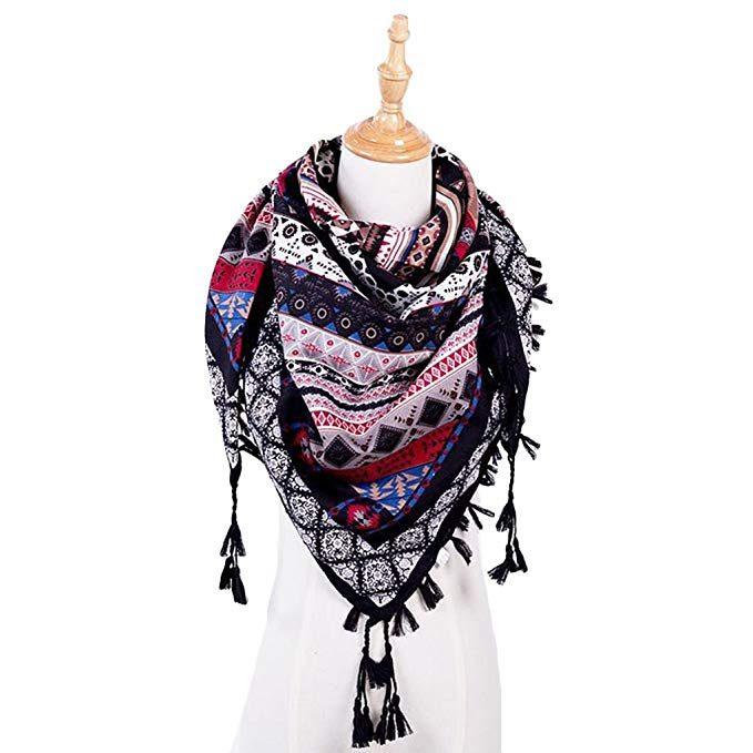 pañuelos y fulares estilo etnico