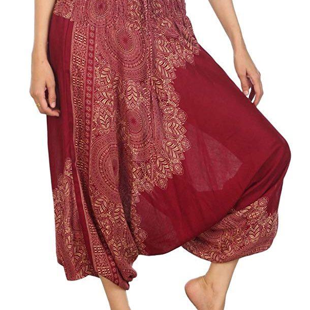 pantalones estilo etnico