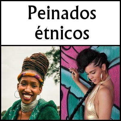 peinados etnicos moda