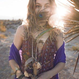 moda etnica mujer