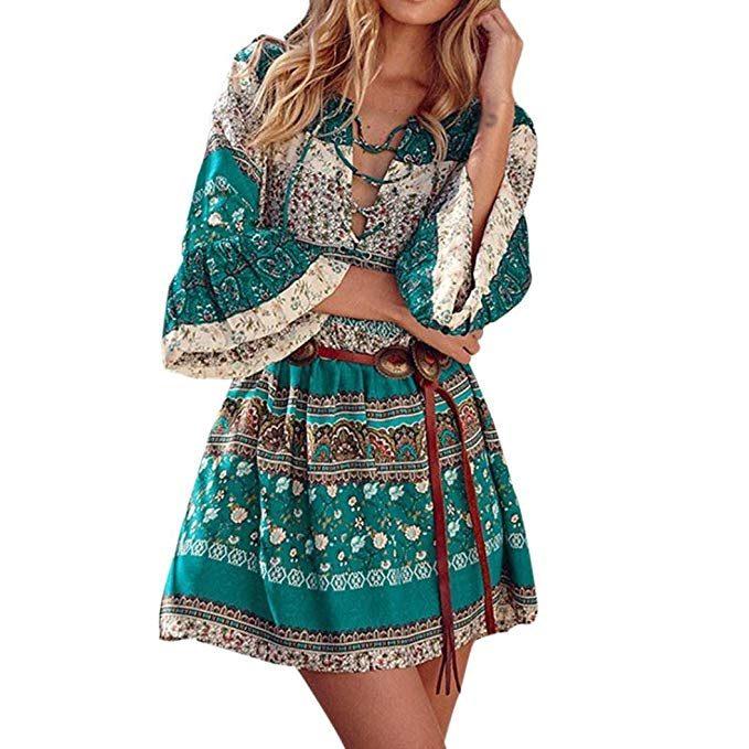 vestidos estilo etnico